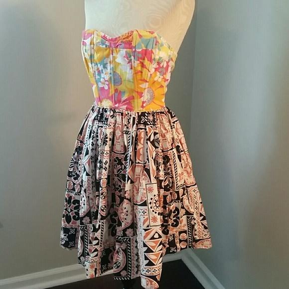 8f4d196b690fa Tracy Feith Target Mixed Print Cotton Dress. M_5b79875a409c15cb7b3c56ca